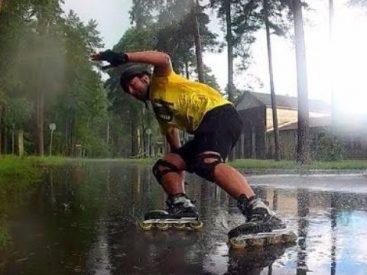 Apakah Boleh Bermain Sepatu Roda Saat Hujan Bagian 2