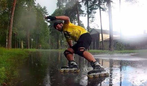 Apakah Boleh Bermain Sepatu Roda Saat Hujan Bagian 1
