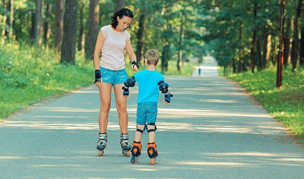 Cara Mengajari Anak Bermain Roller Skate Bagian 2